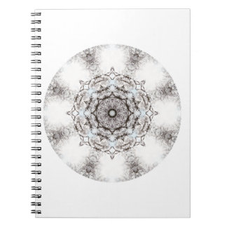 Pretty Pattern on a White Background. Note Book