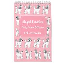 Pretty Patterns Calendar by Abigail Davidson