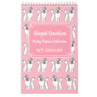 Pretty Patterns Calendar by Abigail Davidson