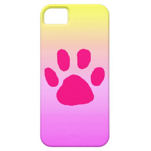 pretty iphone 5s cases pretty paw iphone 5 cover zazzle 5835