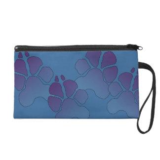 Pretty Paw Print purse Wristlets