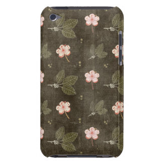 Pretty Peach Flowers iPod Touch Cover