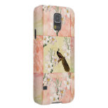 Pretty Peach Patchwork Cases For Galaxy S5