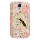 Pretty Peach Patchwork Samsung Galaxy S4 Case