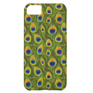 Pretty Peacock Feathers Pattern iPhone 5C Case