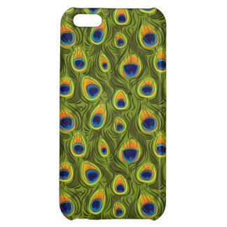 Pretty Peacock Feathers Pattern iPhone 5C Cover