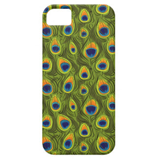 Pretty Peacock Feathers Pattern iPhone SE/5/5s Case