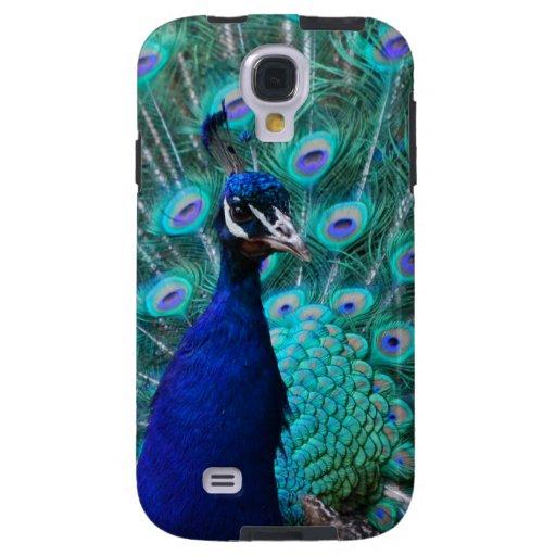 Pretty Peacock Galaxy S4 Case