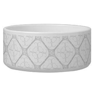 Pretty Pearly Pet Bowl Ceramic Large 40 oz.