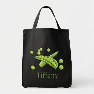 Pretty Peas Canvas Bag