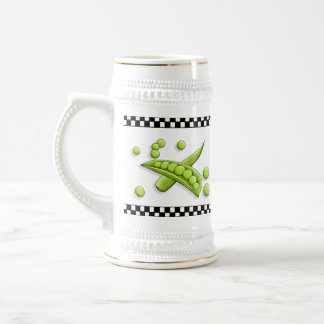 Pretty Peas Ceramic Stein