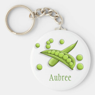 Pretty Peas Keychain