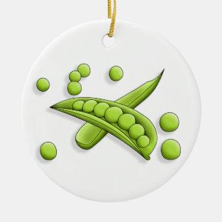 Pretty Peas Ornament
