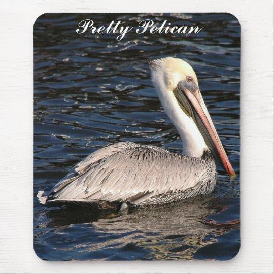Pretty Pelican Mousepad