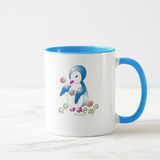 Pretty Penguin Mug
