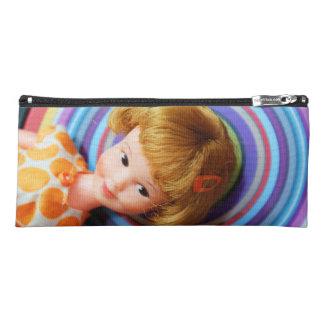Pretty Penny Brite with circles Pencil Case