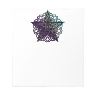 Pretty pentacle 40 page notepad