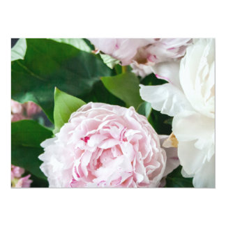 Pretty Peonies Pastel Bouquet Card