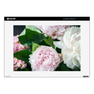 Pretty Peonies Pastel Bouquet Skins For Laptops