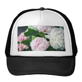 Pretty Peonies Pastel Bouquet Trucker Hat