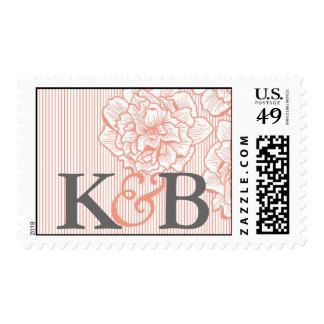 Pretty Peony Monogram Stamp