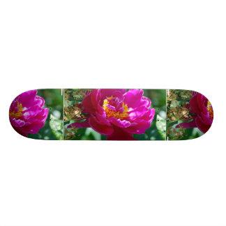 Pretty Peony Skate Board Deck