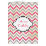 Pretty Personalized Birthday Greeting Cards