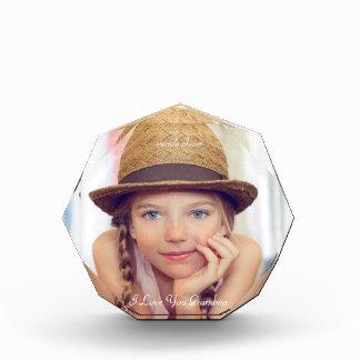 Pretty, Personalized, Custom Photo Photo Block