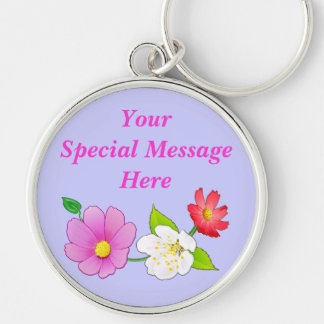 Pretty Personalized Keychains for Women