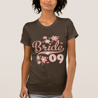 Pretty Petal 09 Bride Shirt