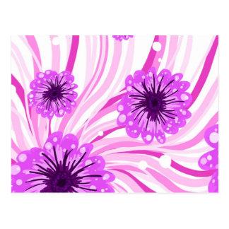 Pretty petals postcard