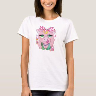 Pretty pig lovely pig T-Shirt