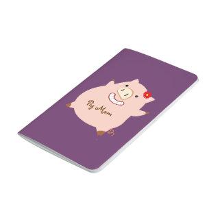 Pretty Piggy Pig Mom Journal