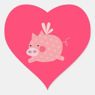Pretty Pigs Fly Sticker