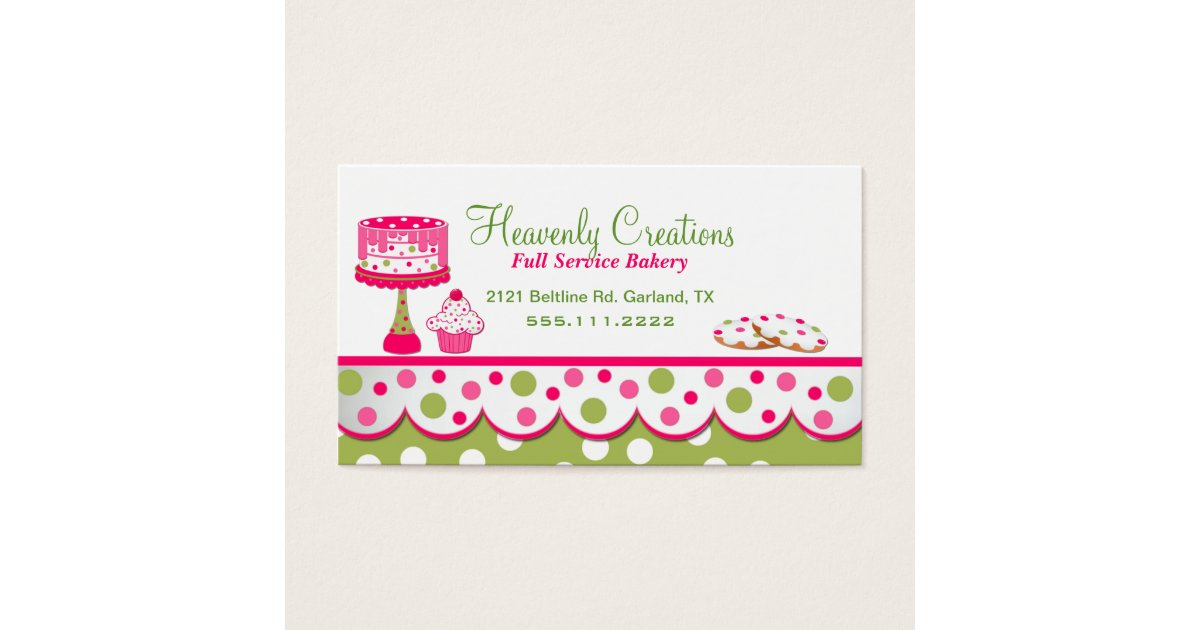 girly barista and bartender business cards girly business cards