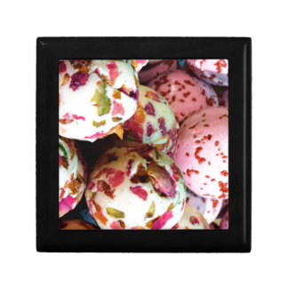 Pretty Pink and Marbled Bath Bombs - Beauty Print Jewelry Box