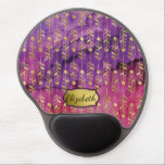"Pretty Pink and Purple Gold Feather Personalized Gel Mouse Pad<br><div class=""desc"">Pretty Pink and Purple Watercolor Gradient Gold Feather Personalized Gel Mouse Pad.  Easy To Change The Name To Your Own.  Click Customize To Change The Font Type,  Font Color,  Font Size Or To Add/Delete/Change The Text Or Design Elements.</div>"