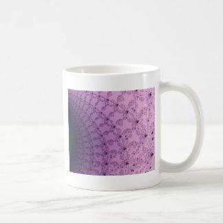 Pretty Pink and Purple Pattern Art Coffee Mugs
