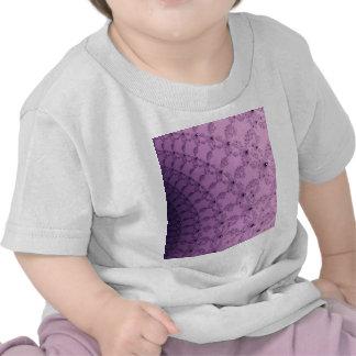 Pretty Pink and Purple Pattern Art Shirts