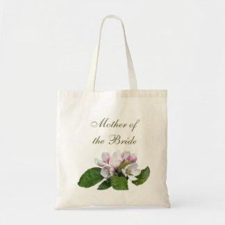 Pretty pink apple blossom wedding bag