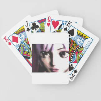 Pretty Pink Bicycle Playing Cards