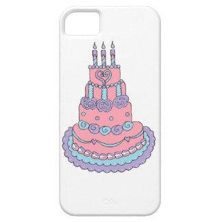 Pretty Pink Birthday Cake iPhone SE/5/5s Case