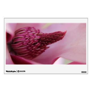 Pretty pink bud wall decal