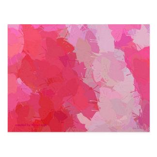Pretty Pink Butteflies Postcard