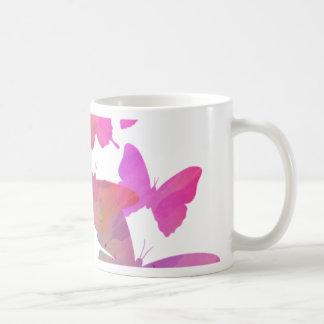 Pretty Pink Butterflies Coffee Mug