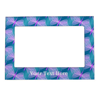 Pretty Pink Butterflies Magnetic Frame