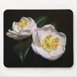 Pretty Pink Camellias Mouse Pad