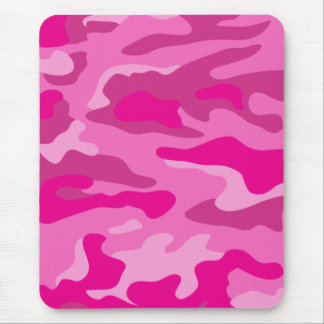 Pretty Pink Camouflage Mouse Pads