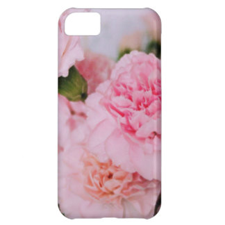pretty pink carnation flowers iPhone 5C cover