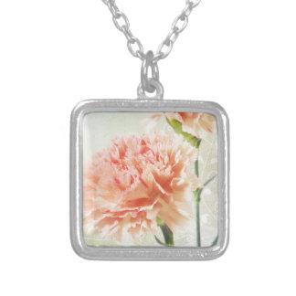 Pretty Pink Carnation Necklace